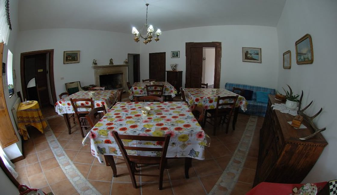 Bed and Breakfast DeContra - Sala da pranzo